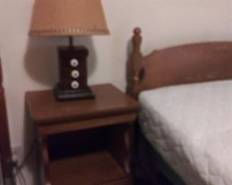 Night Stand and (3 Single Beds - $10 each)