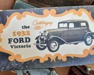 1932 Ford Model Kit c. 1964