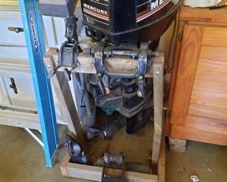Mercury Boat Motor and trolling motor