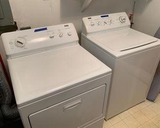 Kenmore Elite Washer & Dryer