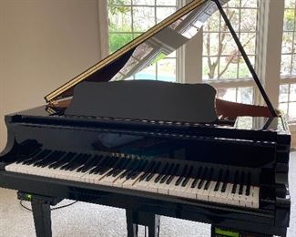 Yamaha Black Baby Grand Piano Disklavier