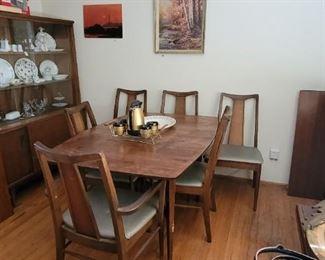 9 piece wood dining set
