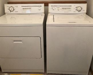 Like new set of KitchenAid Superba Whisper Quiet Washer and Dryer!