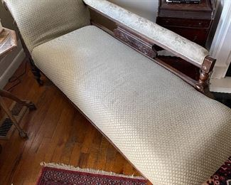 Victorian Lounge Seating/Fainting Couch