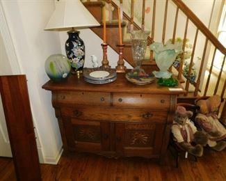 Antique Oak Sideboard