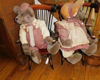 Several Of Many Bears & Dolls