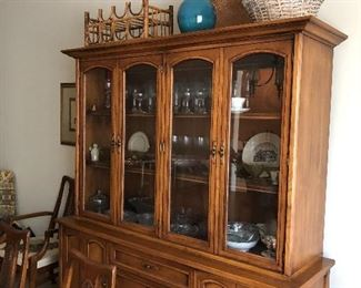 White Furniture Company North Carolina China cabinet