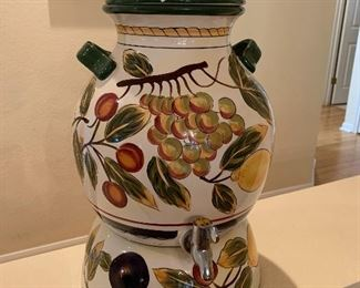 $125~CERAMIC ITALIAN SAMAVOR