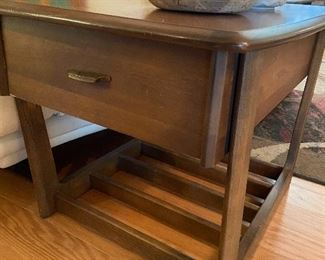 Pair of these side tables by Dixie.
