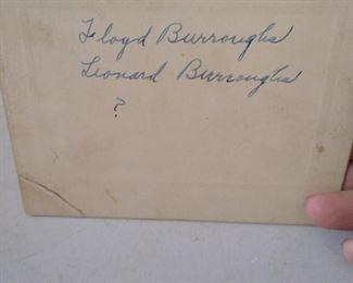 Box full Burroughs Family Photos