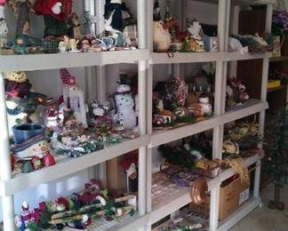 Tons of Christmas and Holiday Decor