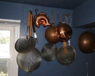 Copper and other Kitchenware