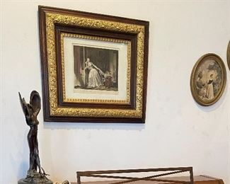 Bronze statues and art