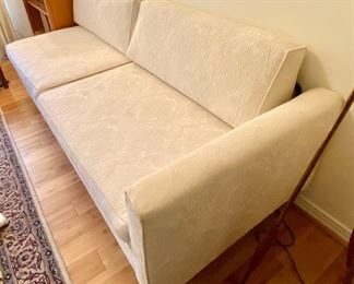 "11- $295 Mid century modern sofa one arm 80""L x 30""D x 31""T"