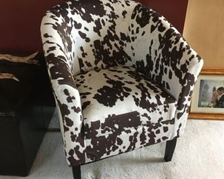 one of 2 pony chairs