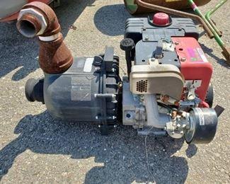 Tecumseh 8HP Cast Iron Sleeve Pump
