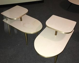 Midcentury end tables