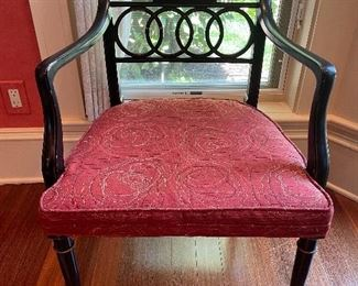 Pair of matching Baker chairs