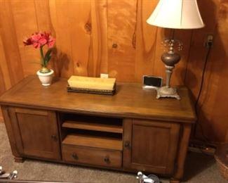 TV Cabinet, decor, lamp