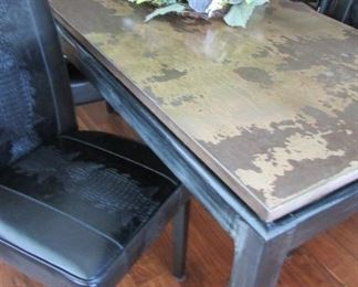 4 Leather Chairs from Gabberts