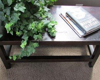 Wood Rustic Coffee Table