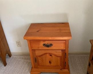Second of two bedside tables