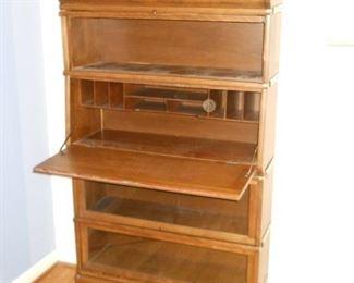Rare barrister bookcase