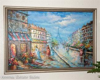 Oil on Canvas - PARIS