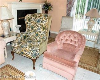 Armchair - Wingback chair