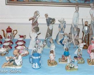 CERAMIC figurines and MORE