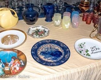 Ceramic Collector Plates