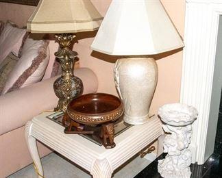 End Tables - Lamps - Decor