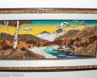 1960s - Wood accent Art