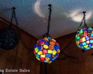 Mid Century Hanging Lights
