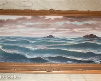 LARGE Seascape by LORENZO