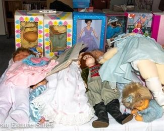 DOLLS and BARBIES