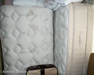 Pair of SEALY Twin Mattress Sets