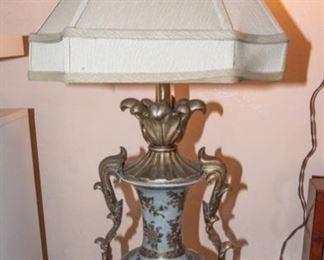 Asian Motif Table Lamp