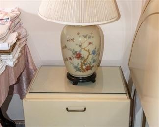 Bedroom furniture and lamps
