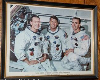 Signed Astronaut photo