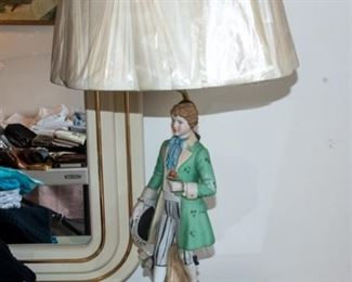 Vintage Figural Lamp