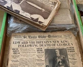 Amazing old newspapers. You should ask Scott about some of the things he found in them.