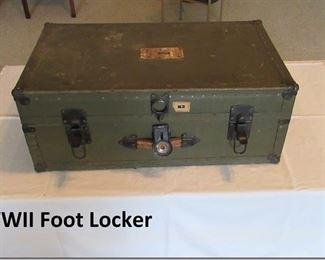 WWII Foot Locker