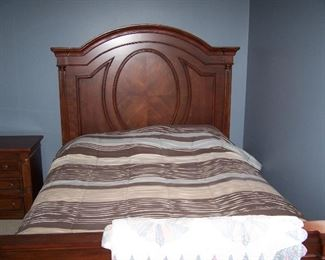 NEWER QUEEN-SIZE BED