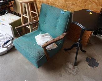 chair, tilt table
