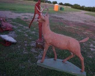 Concrete large deer