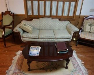 antique furniture from OK land room plus other pieces