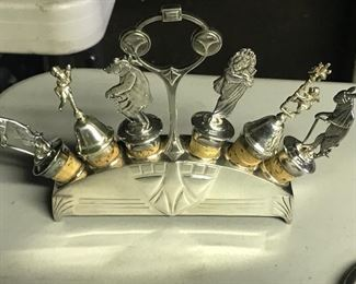 Silver Plate toppers