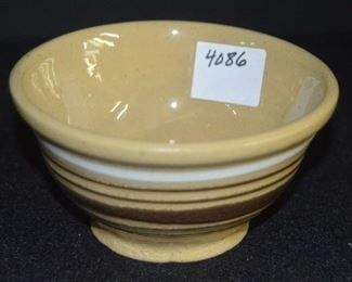 """4086 - 5"""" Beige Stoneware Bowl"""