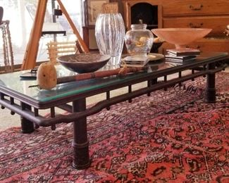 Antique rose wood  6ft table